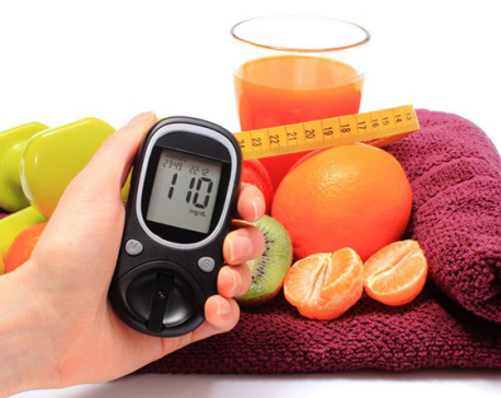 Keep a check on diabetes to avoid visual impairments