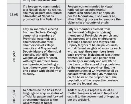 Govt registers 7-point constitution amendment bill