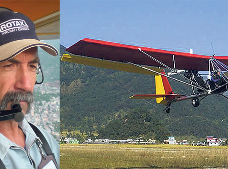 Seti flashflood alert pilot dies in Ultralight crash