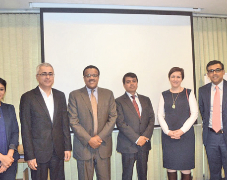 IFC, Global IME Bank discuss mutual cooperation