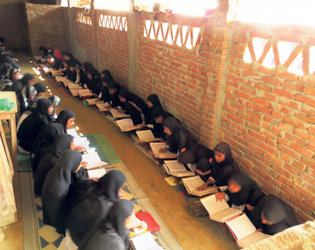 Muslim daughters start going to school
