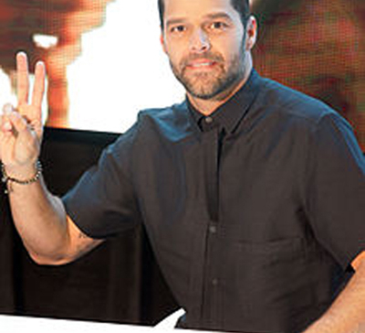 Ricky Martin thinks his wedding will be loud