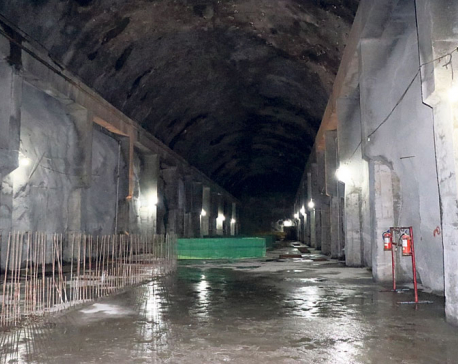 Work on Upper Tamakoshi  going at full swing