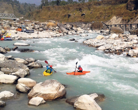 Whitewater challenge in Seti River starts today