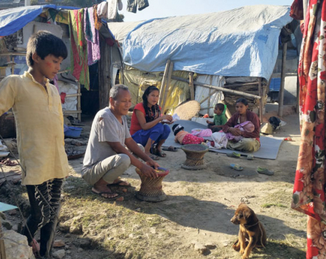 Harsh winter ahead for quake victims living under tents