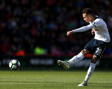 Tottenham held 0-0 by Bournemouth in Premier League