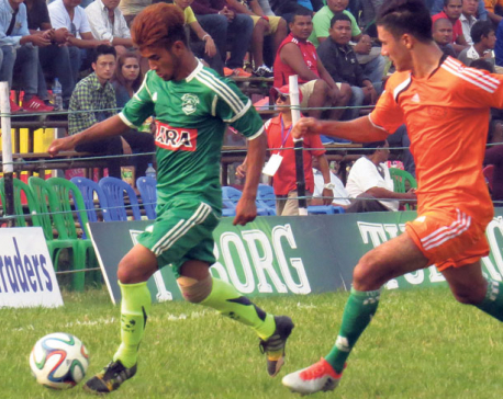 Morang Football Club into semifinal