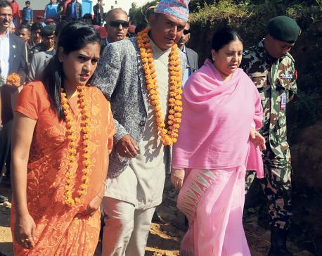 Suntali, Dhurmus usher quake victims into new homes