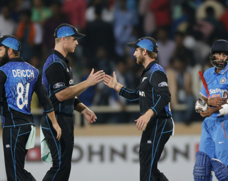 New Zealand beats India by 19 runs in 4th ODI