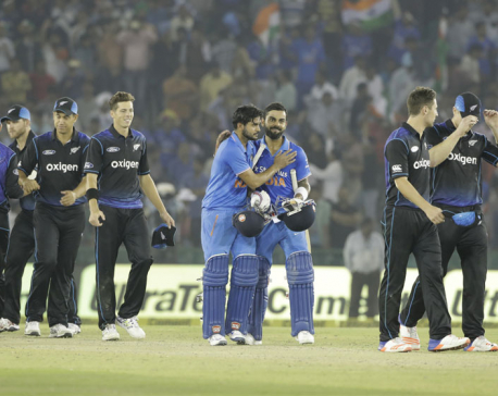 Kohli's 154 takes India to 7-wicket win over NZ in 3rd ODI