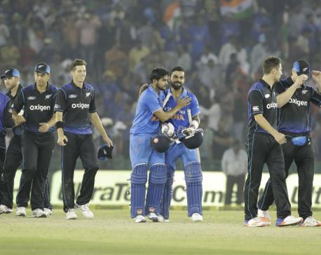 Kohli's 154 takes India to 7-wicket win over NZ in 3rd ODI