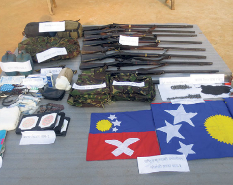 Police uncover trend of new armed groups in hills