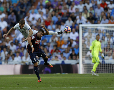 With a beauty by Nacho, Madrid routs Leonesa in Copa del Rey
