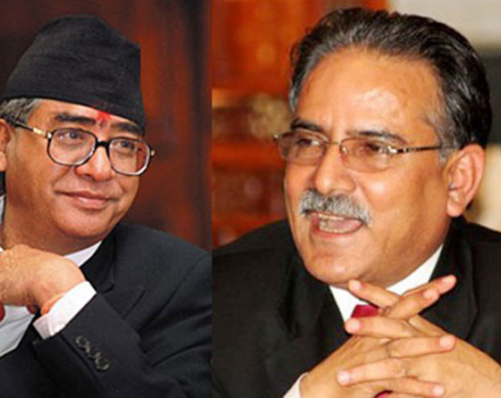 PM Dahal, Deuba hold talks on impeachment motion