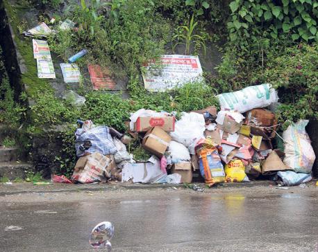 Waste management problem in Ilam