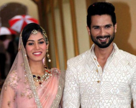 It was important to find someone real and normal, Shahid Kapoor on MiraRajput