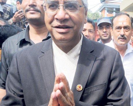 Deuba hints at backing impeachment
