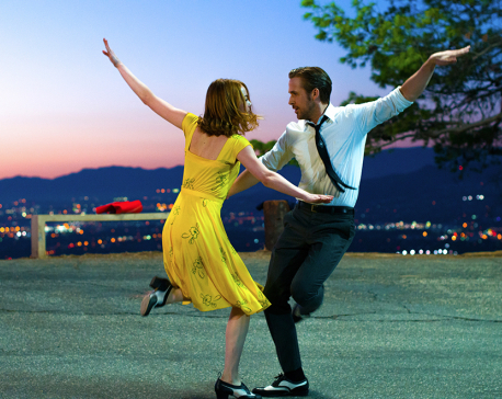 Oscars go gaga for 'La La Land' with record-tying 14 nods