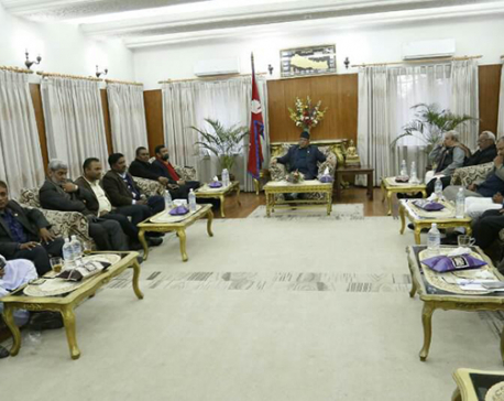 PM Dahal holds meeting with UDMF leaders