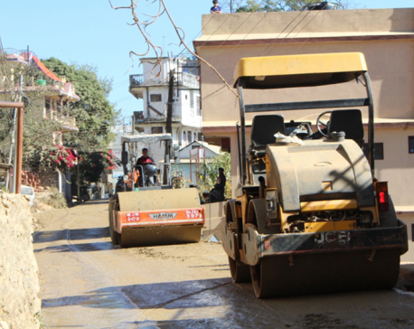 Palpa upgrades roads as banda continues