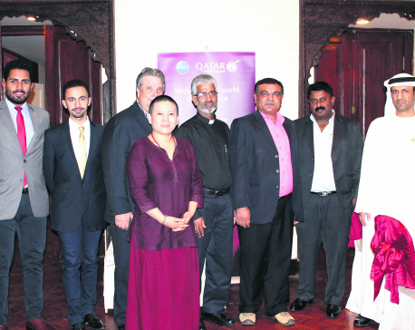 Qatar Airways hosts Ramadan dinner