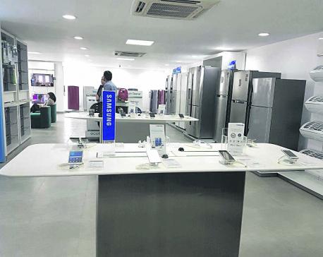 Samsung Digital Plaza at Maharajgunj gets a facelift