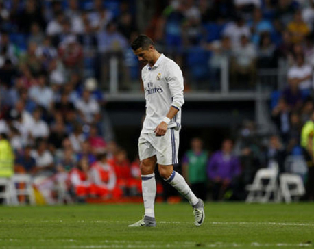 Real Madrid dealing with poor results and unhappy Ronaldo