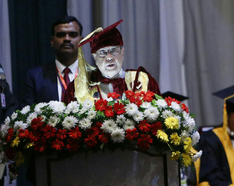 President Mukherjee attends KU's special function