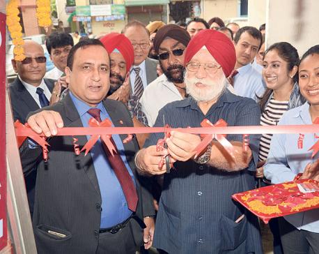 Everest Bank opens ATM at Gurdwara in Kupondol