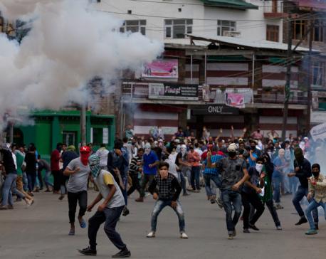 2 killed, 25 injured in protests in Indian Kashmir