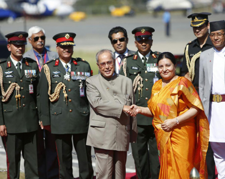 Mukherjee assures India's support to strengthendemocratic institutions