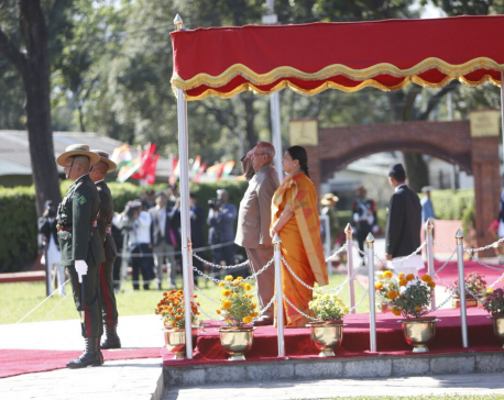 Indian President's entourage includes 60 members