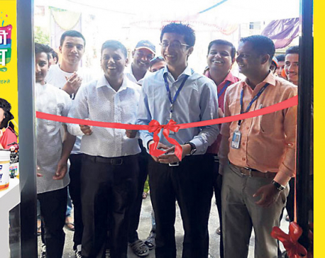 Pashupati Paints opens new showroom in Butwal