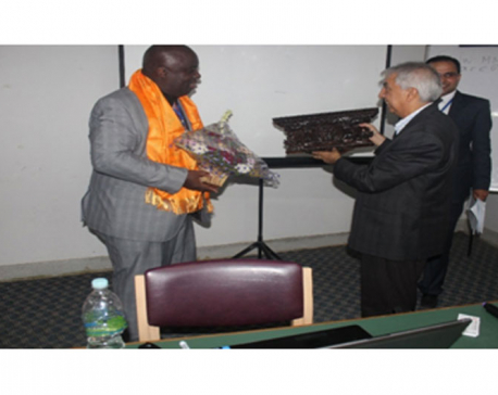 Prof. Dr. Anthony J. Onwuegbuzie felicitated by KU