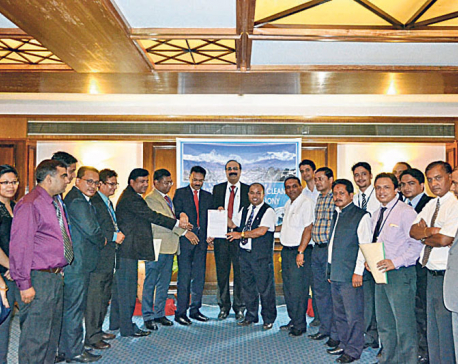 Nepal SBI Bank signs MoU to beautify Fewa Lake