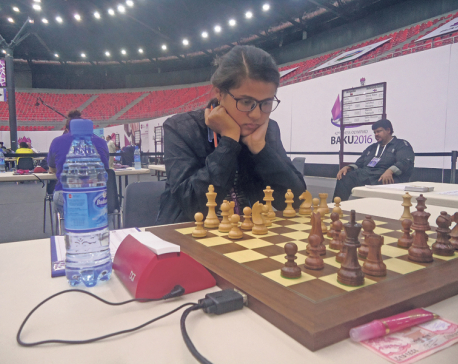 Sujana becomes Nepal's 1st woman FIDE Master