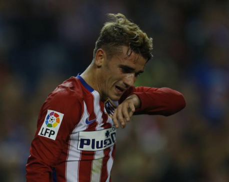 Griezmann scores 2, sets up 1 to jump-start Atletico season
