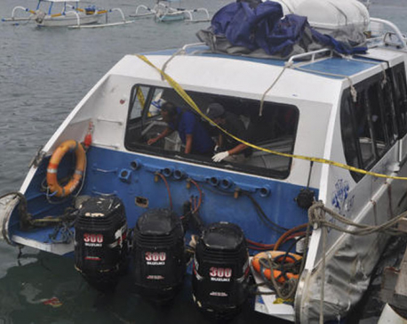 2 tourists killed in Bali boat explosion, many injured