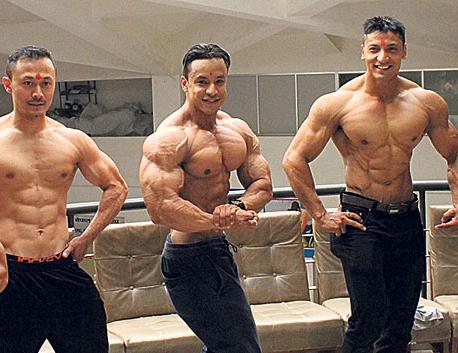 Nepali bodybuilding team off to Bhutan