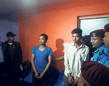 Maoist ex-combatants set off bombs at schools, 2 arrested