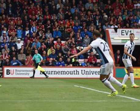 Bournemouth earns first win at West Brom's expense in EPL
