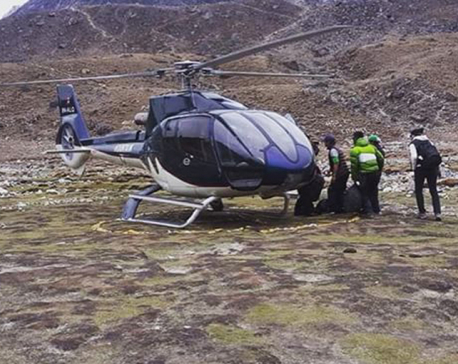 Mountain Air chopper makes forced landing