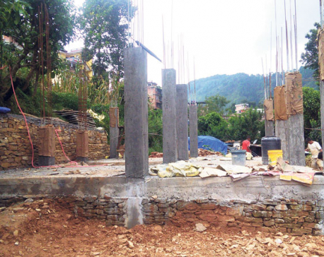 Construction of house that flagged off govt's reconstruction program stalls