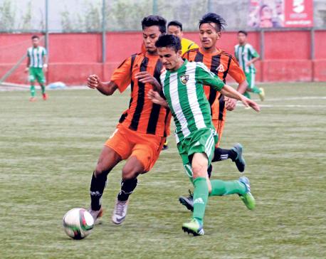 NRT toils hard to beat Mahabir