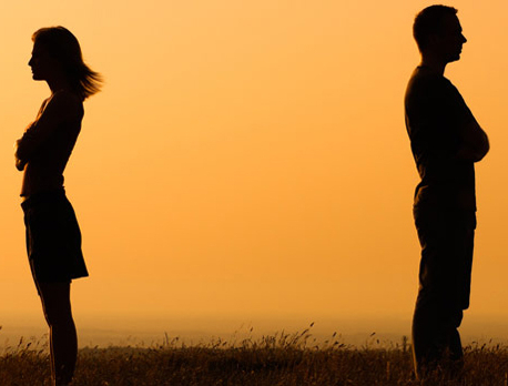 Marital separation or divorce may lead to eczema, musclepain