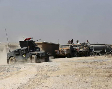 Iraqi advance on Mosul slows after day of fighting