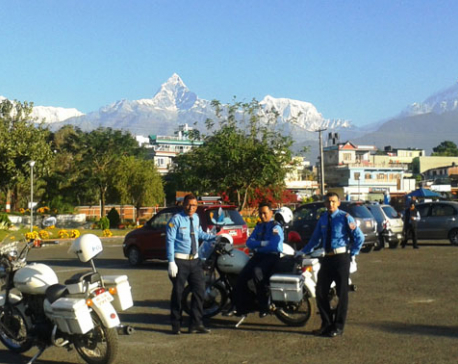 Pokhara ready to welcome President Mukherjee (photo feature)