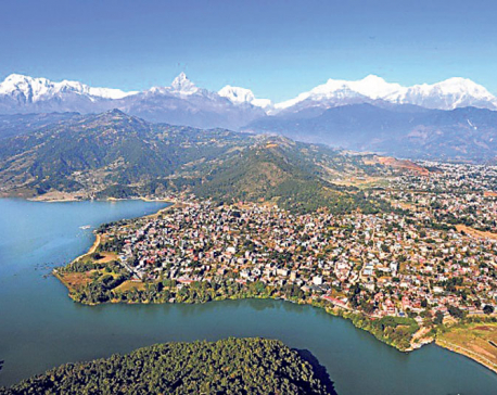 Dearth of tourists steals Pokhara's tourism day fanfare