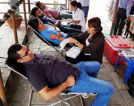 Qatar Airways, NATTA organize blood donation program