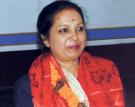 Rajbhandari assumes office at Nepal Telecom